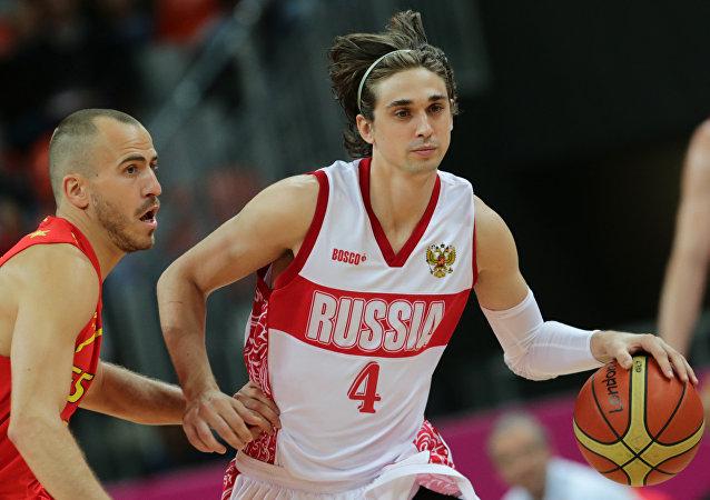 Alexey Shved é um dos craques do basquete russo.