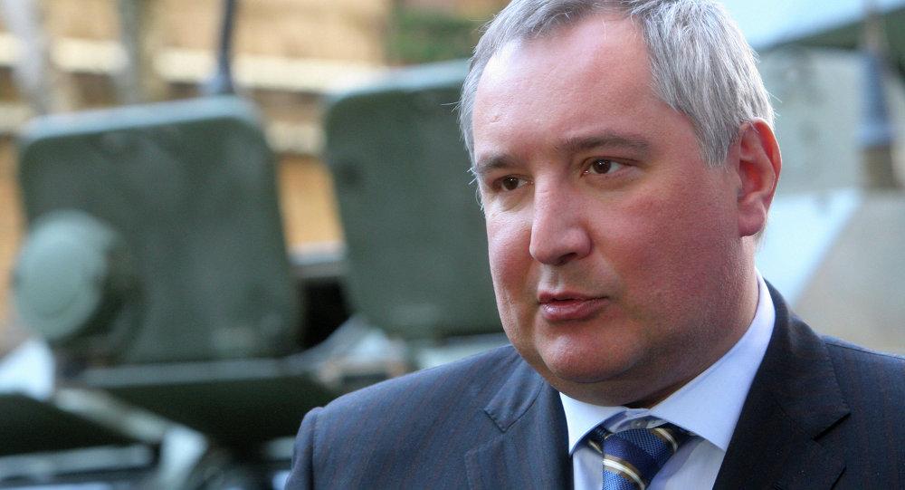 Vice-premiê russo Dmitry Rogozin