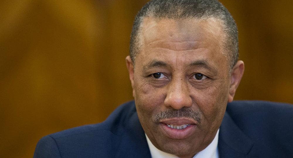 Abdullah al-Thini, primeiro-ministro de um dos governos da Líbia.