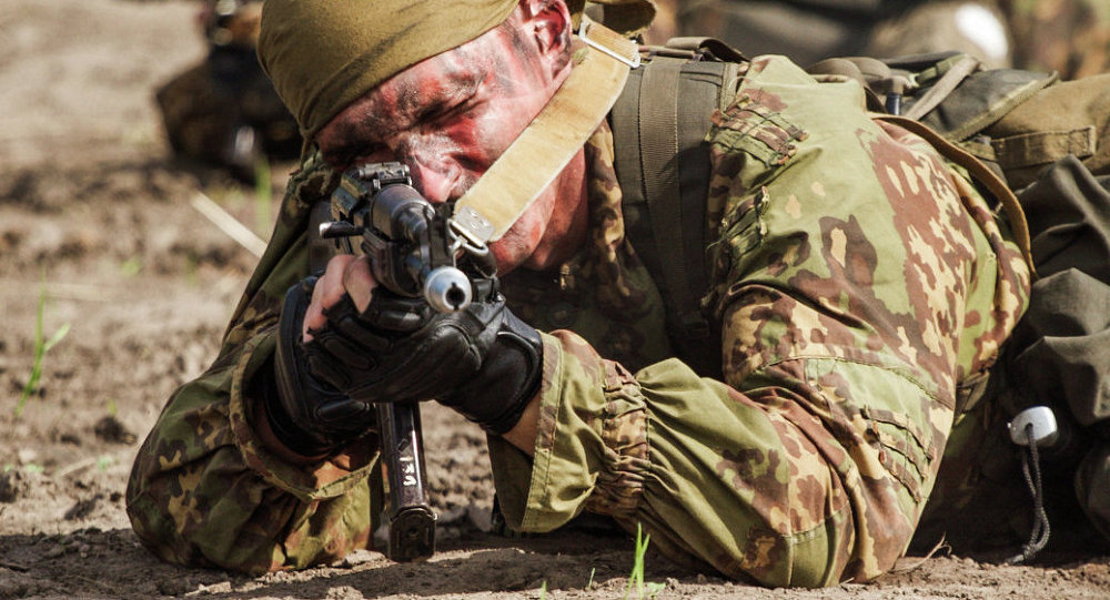 Competição militar internacional Masters of Reconaissance