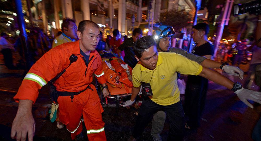 Explosão em Bangcoc.