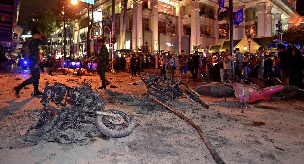 Explosão de bomba em Bangkok