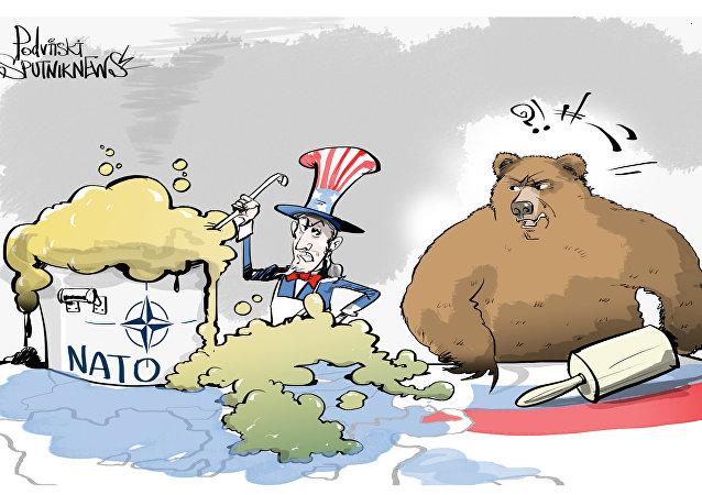 Atividade suspeitosa da OTAN perto da Rússia
