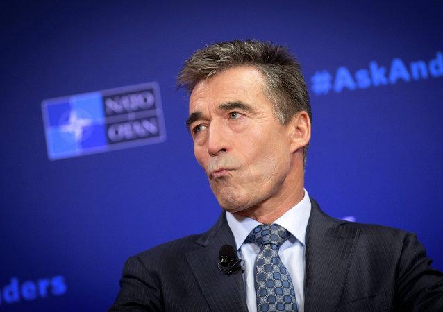 Anders Fogh Rasmussen, ex-secretário-geral da OTAN