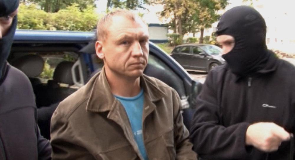 Justiça russa considerou Eston Kohver culpado pelos crimes de espionagem, contrabando, posse ilegal de armas e por cruzar a fronteira da Rússia ilegalmente