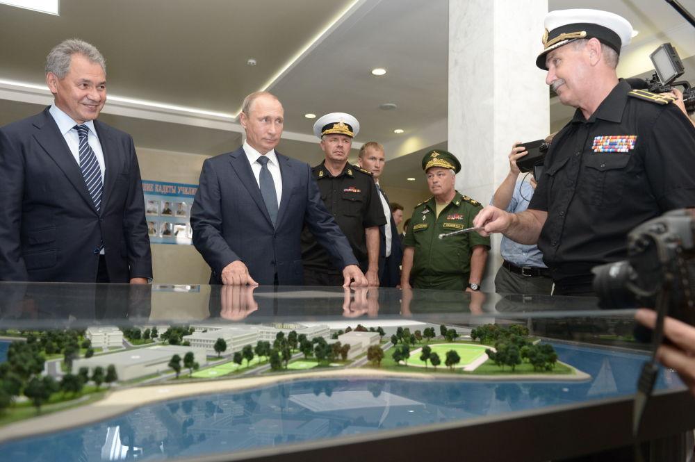 Visita de trabalho de Vladimir Putin à Crimeia