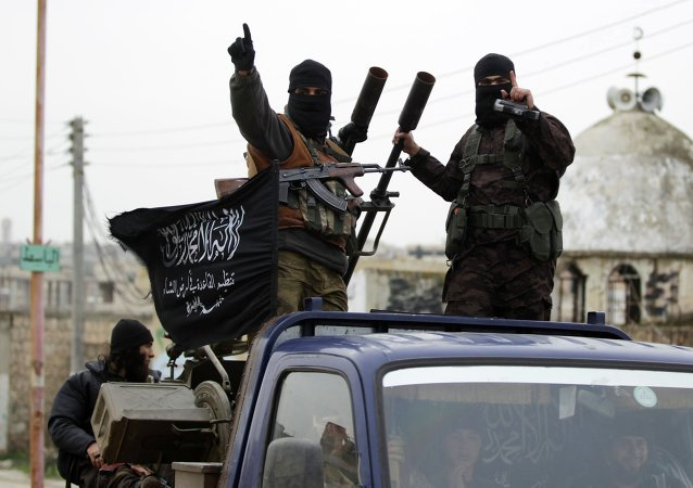 Os militantes da Frente Nusra da Al Qaeda