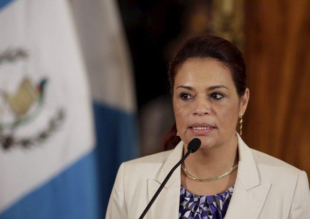 Roxana Baldetti, ex-vice-presidente da Guatemala