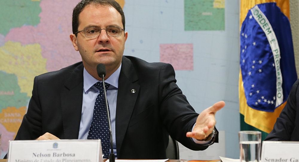 Ministro da Fazenda Nelson Barbosa