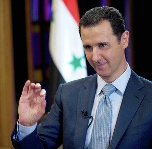 Presidente da Síria, Bashar Assad dá entrevista à BBC em Damasco