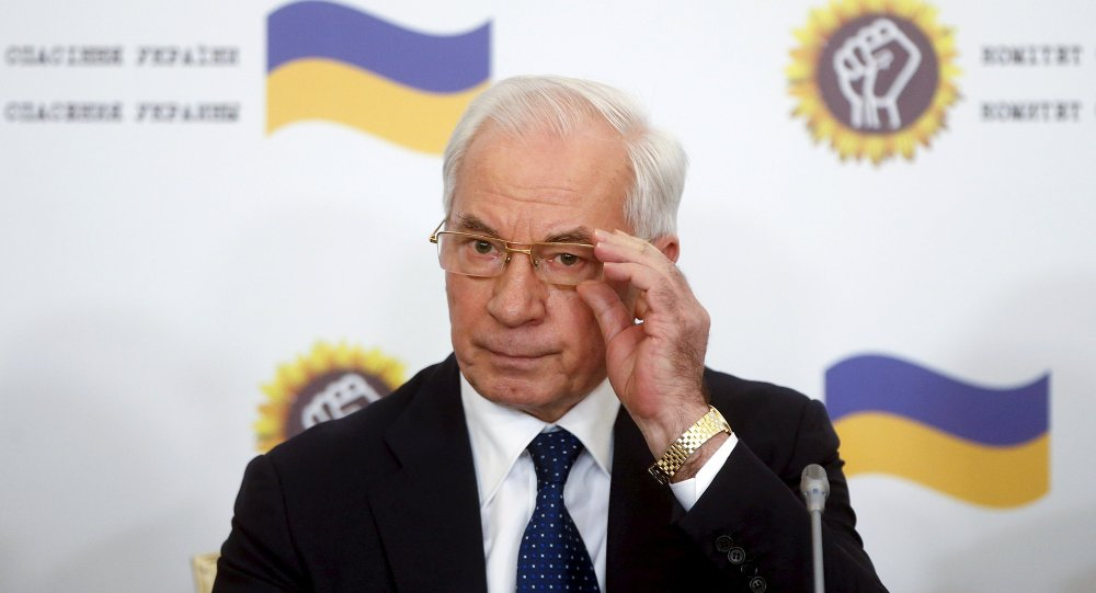 Ex-primeiro-ministro da Ucrânia, Nikolai Azarov
