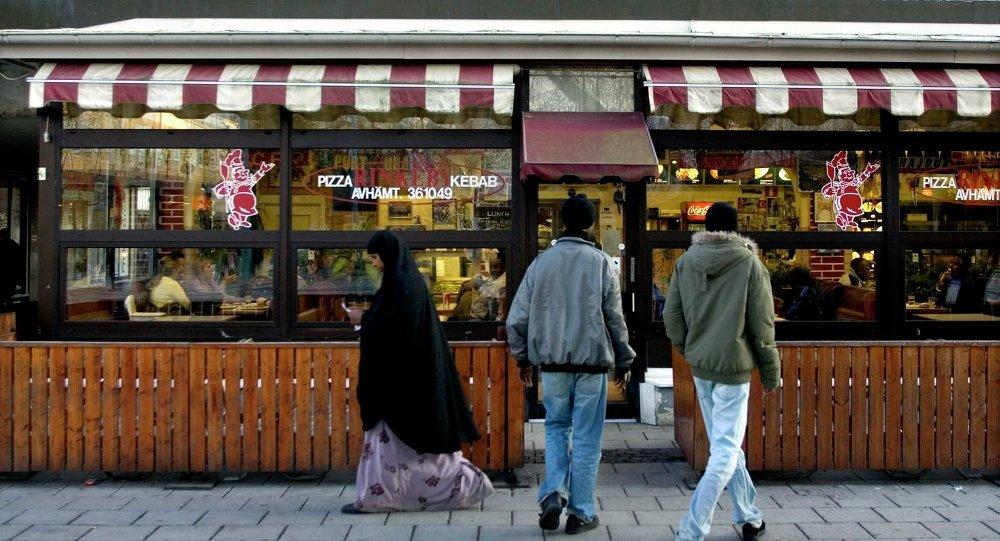 Rinkeby, bairro do subúrbio de Estocolmo com grande concentração de imigrantes