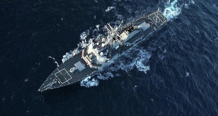 Destróier USS Donald Cook (imagem de arquivo)