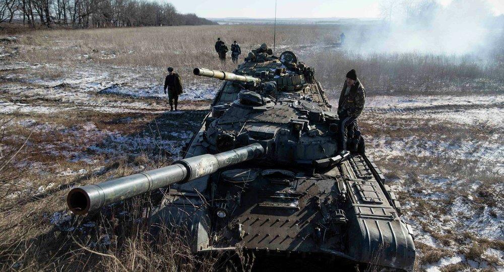 Tripulación del tanque de las separatistas