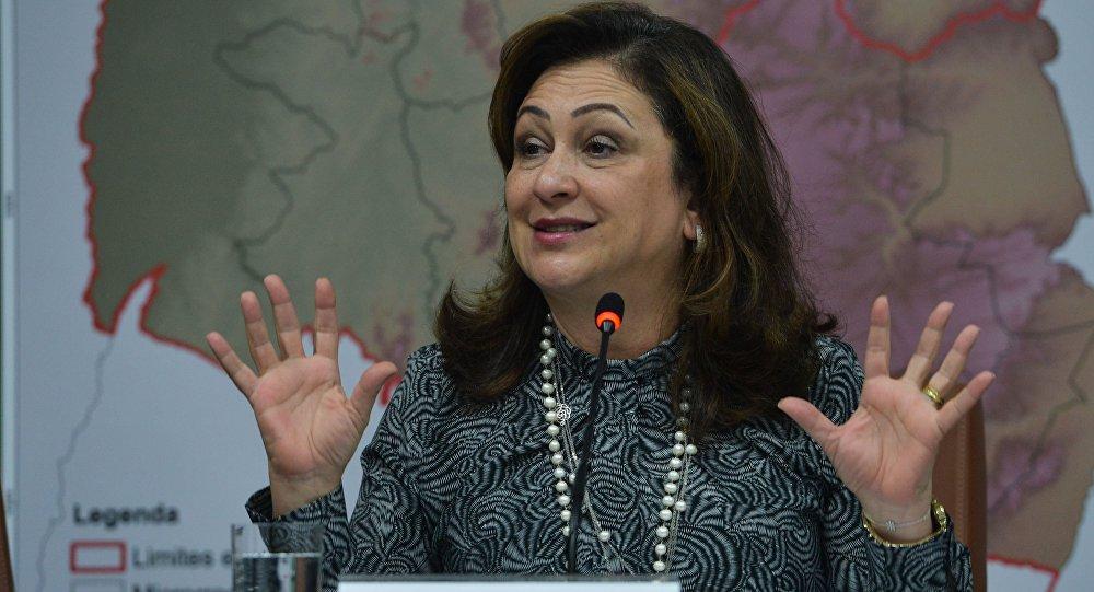 Ministra da Agricultura, Pecuária e Abastecimento, Kátia Abreu