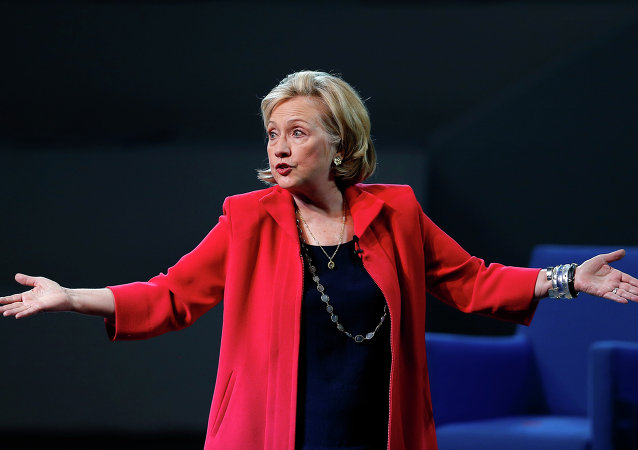 Hillary Clinton, ex-secretária de Estado dos EUA