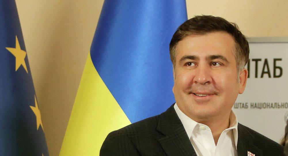 Mikheil Saakashvili, ex-governador da região de Odessa