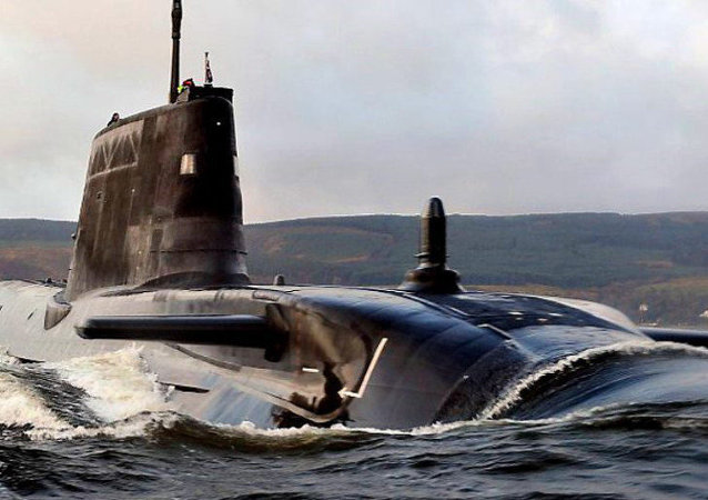 Submarino da Marinha Real Britânica