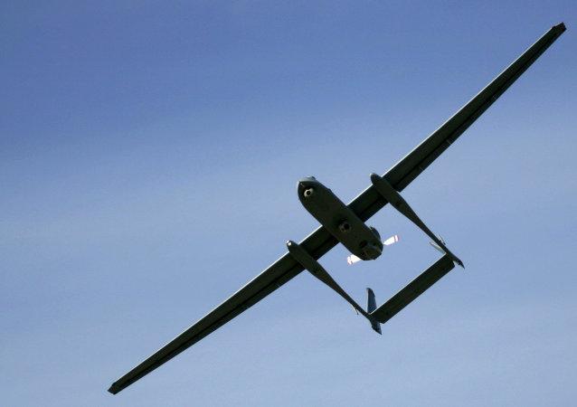 Um drone do exército israelense