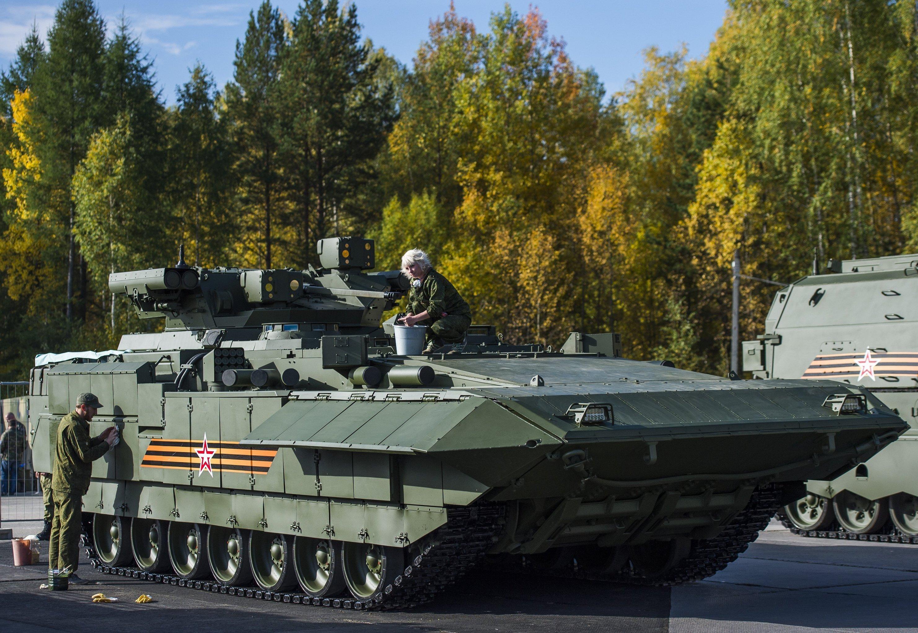 T-15 veículo de combate de infantaria pesada