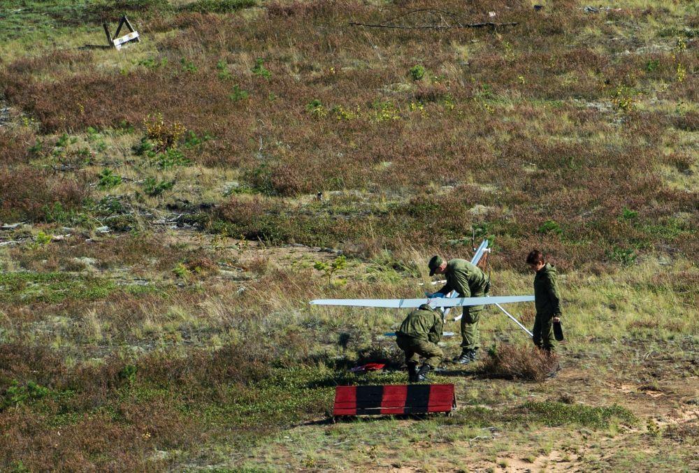 Lançamento de veículo aéreo não tripulado
