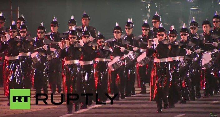 Cerimônia de encerramento do Festival Internacional de Música Militar