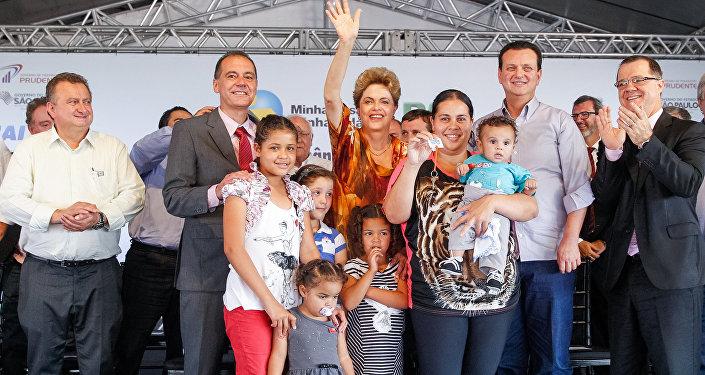 Presidenta Dilma entrega casas do programa Minha Casa, Minha Vida, em Presidente Prudente, São Paulo