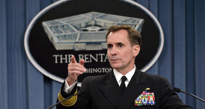 John Kirby, porta-voz do Departamento de Estado dos EUA
