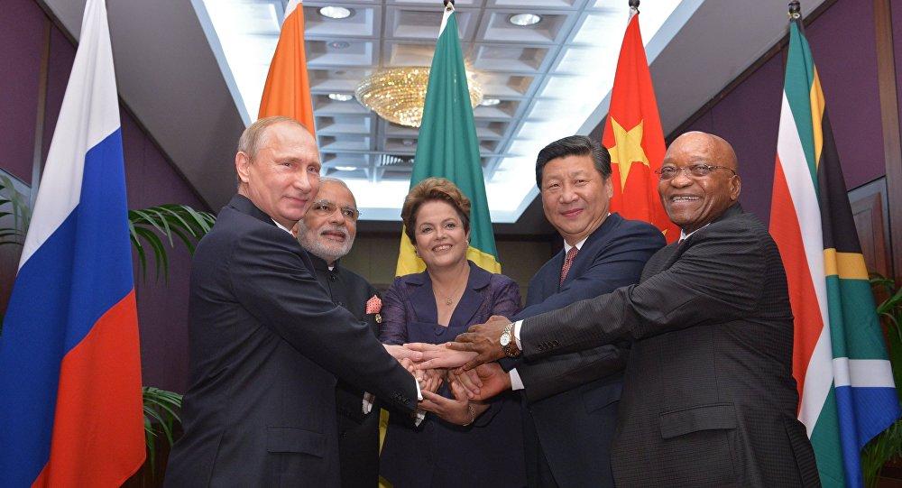 Dirigentes dos países dos BRICS