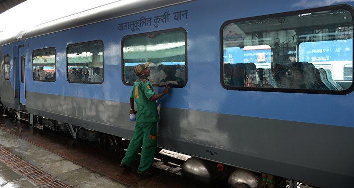 Trem na Índia