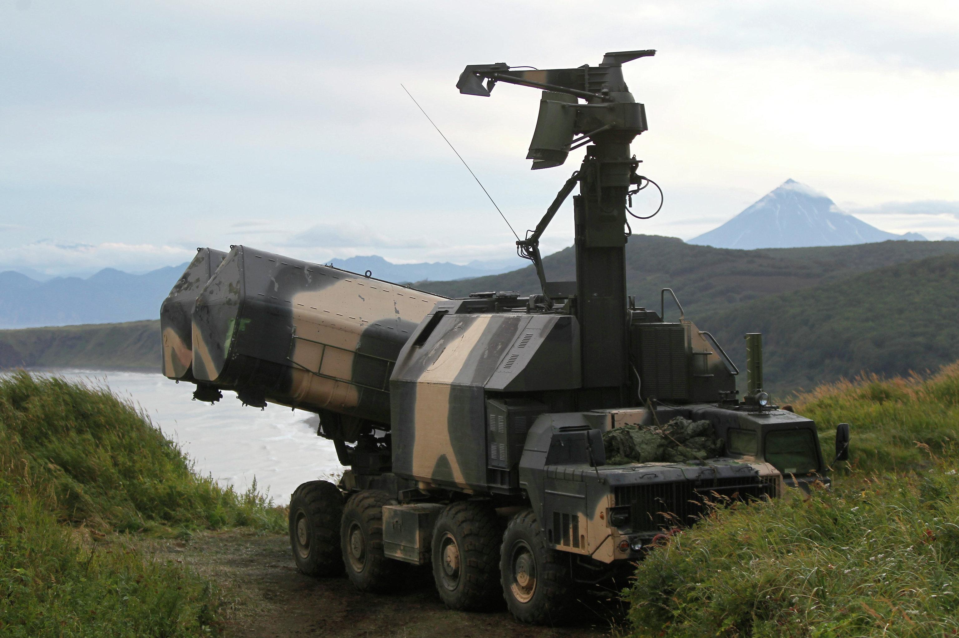 Complexo móvel de mísseis russo Rubezh (Fronteira)