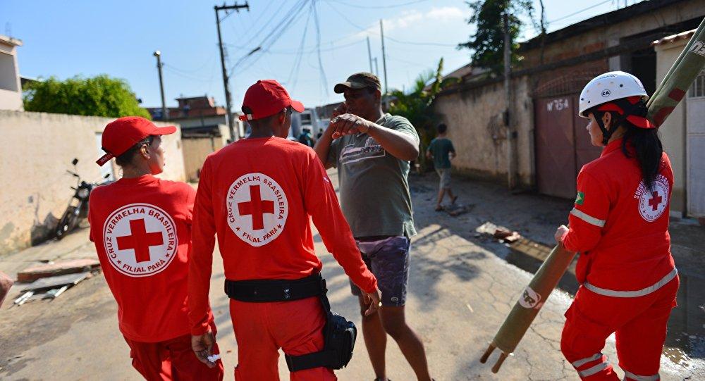Colaboradores da Cruz Vermelha