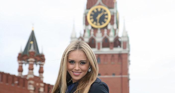 Ksenia Sukhinova - vencedora do concurso Miss Mundo 2008