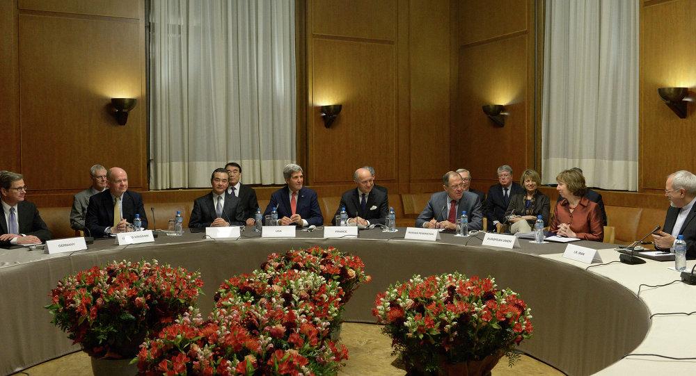 Reunião de ministros das Relações Exteriores sobre o programa nuclear do Irã