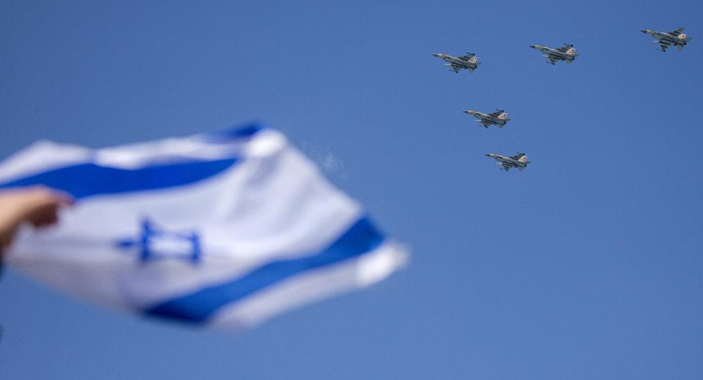 Caças israelenses F-16