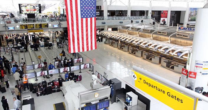 Aeroporto JFK nos EUA
