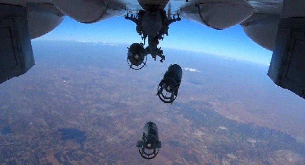 Aviação russa realiza ataques localizados contra instalações dos terroristas na Síria (foto de arquivo)