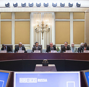 Encontro de ministros de Indústria e Comércio dos BRICS.