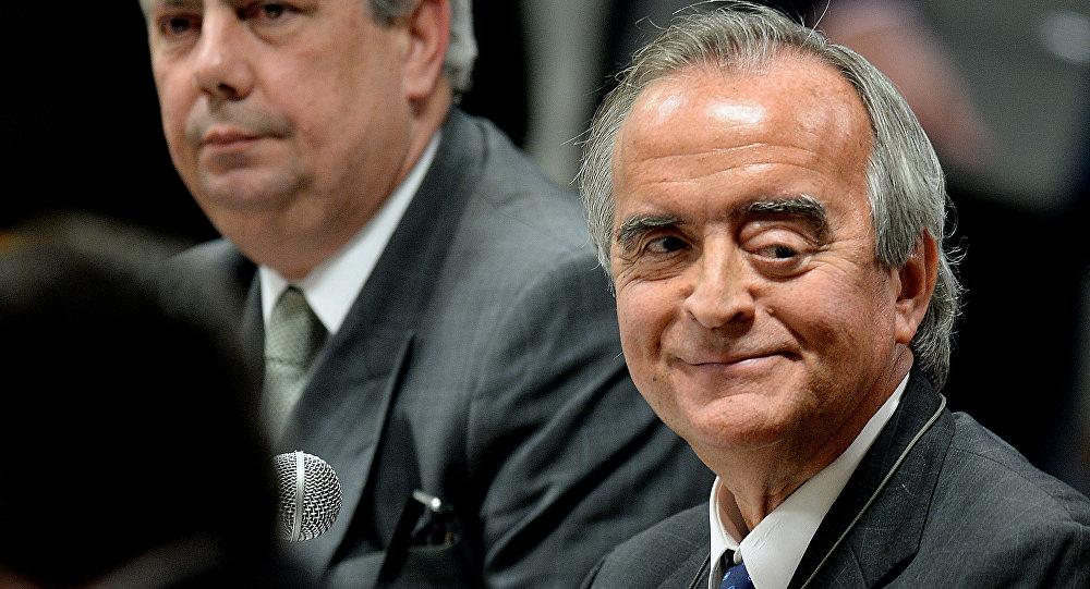 O ex-diretor Internacional da Petrobras Nestor Cerveró