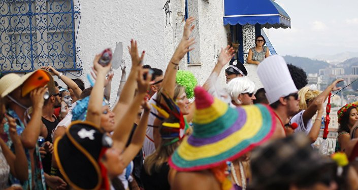 Carnaval de rua no Rio de Janeiro