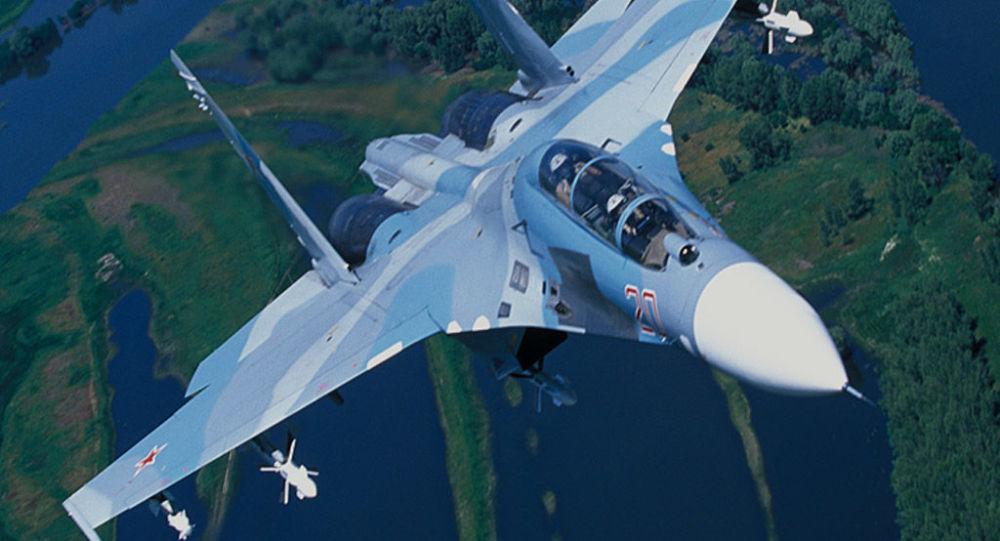 Su-27 (foto do arquivo)