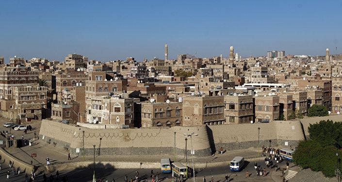 Capital do Iêmen, Sanaa, em 24 de outubro
