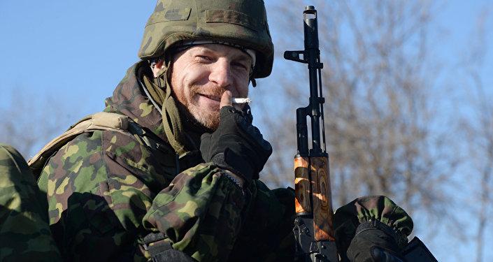 Soldado em Debaltsevo