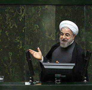 Presidente do Irã Hassan Rouhani