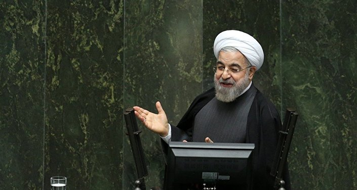 Presidente do Irã Hassan Rouhani