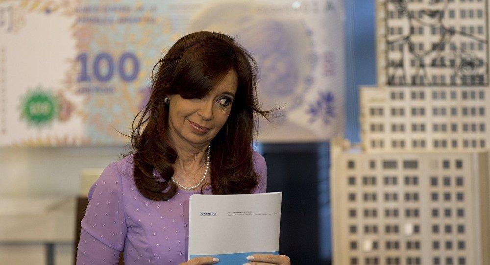 Presidente da Argentina Cristina Kirchner