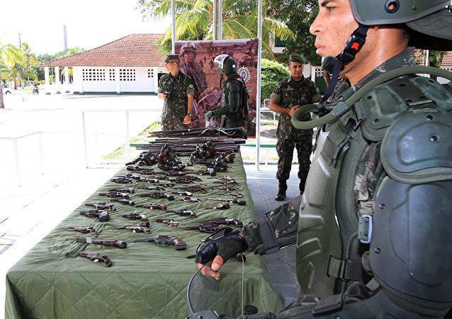 Campanha de Desarmamento em Alagoas