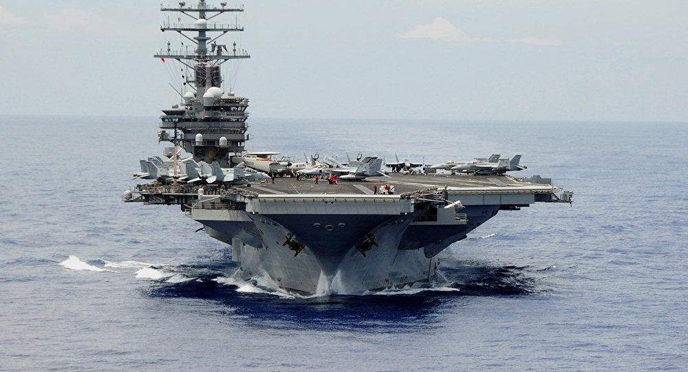 Porta-aviões USS Ronald Reagan, da Marinha dos Estados Unidos