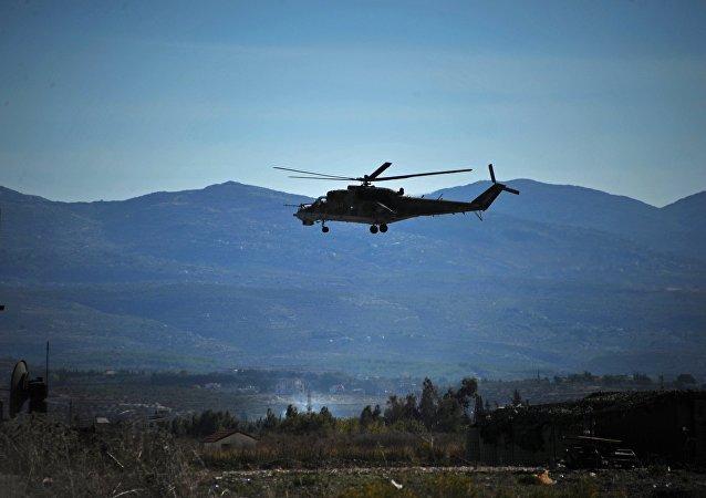 Mi-24 russo na Síria