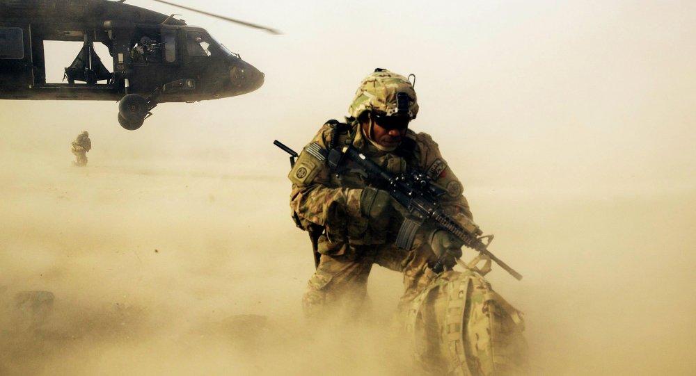 Soldado norte-americano (Foto de arquivo)
